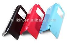 NILLKIN Color Painting Fresh Flip Case For Lenovo S650