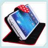 Kickstand phone case for samsung s4mini,for samsung s4mini phone shell,colorful leather case for samsung s4mini