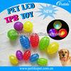 new LED flashing pet dog ball