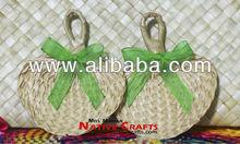Mini Palm Fan / Buri leaf Fan For giveaways