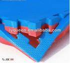 Manufacturers selling high quality EVA taekwondo mat 5.0 cm karate Mat wrestling martial arts taekwondo mat