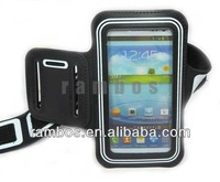 Dual Color Protective Running Neoprene Armband Holder Case for Samsung Galaxy S3 i9300