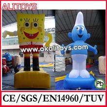 cartoon model inflatable moving cartoon characters