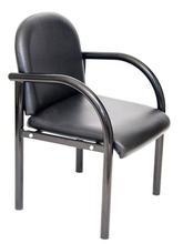 salon chairs black
