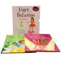 de hadas y bailarina de historias de colección de la biblioteca libros 2 paquete conjunto bella y margarita