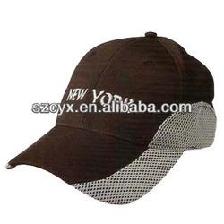 Connection fabric Baseball cap/golf cap made of China