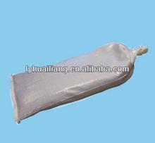 2013 new pp quick sandbags expandable polymer sandbag 20kg 25kg