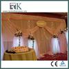 Elegant Wall Backdrop Sheer Drapery For Wedding