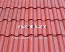Small wave roof tile