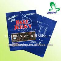 Custom printed and favorable price custom beef jerky packaging bags/dried beef package bags/plastic bag for beef jerky