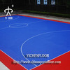 Indoor basketball court flooring with super durable and flexible