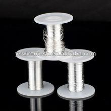 Pure silver wire for ecigs
