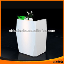 Fashion Supermarket Cashier Counter Desk For Display