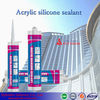 Silicone sealants; acrylic caulk/emulsion;construction acrylic/silicone sealant
