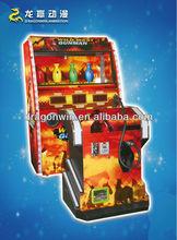 DARDONWIN animation sega japanese coin operated simulator educational adult arcade cabinet 2 player fighting games