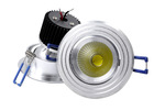5W 10W COB led down light bulb mr16 with spoot fixture and bridgelux led