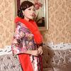 100% silk bamboo fiber fox fur winter lady shawl