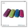 Fashion mesh pink multi-function zipper pencil case
