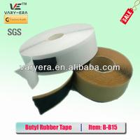 Butyl rubber tape for Metal Roof/butyl waterproof tape/Butyl Roofing Tape 1.5mm*50mm*10m