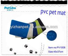 PVC cat mat/cat litter catcher mat/pet sleep mat