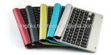 Well-spaced keys with spring mechanism mini bluetooth wireless keyboard 033