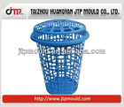 830g plastic Laundry Basket with lid quality Mould