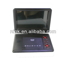 7-Inch Portable TFT/LCD Monitor with Built-In DVD Player MP3/MP4/USB SD Card Slot