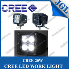Cob led work light in car accessory 10-30v 4x4 offroad 20w led work lamp 4 inch led work light for automotive part