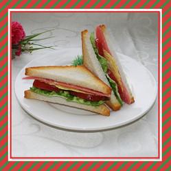 Decorative artificial sandwich models artificial fake food model manufacturer