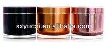 Luxury beautiful round 200ml cream jars