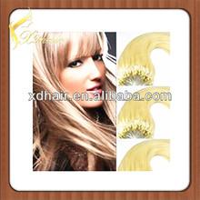 Korea hair brush kinky straight micro loop hair extension
