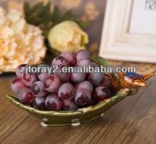 Wholesale ceramic crafts and porcelain fruit dish