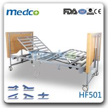 MED-HF501 Hot! Five functions medical folding bed for hospital