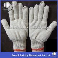 Cheap Natural/White Cotton Gloves