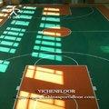 Yichen piso de pvc preço futsal/volante/vôlei de quadra de tênis/basquete chão do jardim de infância