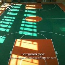 YIchen pvc floor price futsal/badminton /volleyball/ tennis court /basketball/ kindergarten floor