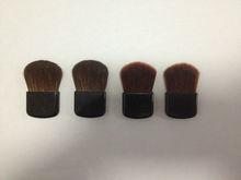 makeup organizers,best pony/goat hair/nylon flat blush brush