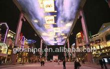 indoor LED ceiling Gloshine P6.94 indoor LED display screen