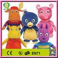 Hi EN71 promocional backyardigan juguetes de peluche