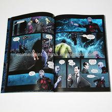 ภาษาอังกฤษหนังสือการ์ตูนผู้ใหญ่, พิมพ์หนังสือการ์ตูน