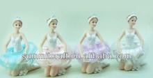 Custom antique beauty ballerina christmas ornament wholesales
