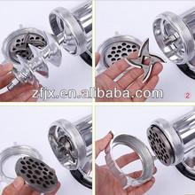 hand aluminium meat grinder