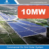 10MW solar power plant , grid tied system. Roof top and groud mounted system