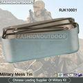 militar alumínio lancheira caixa do piquenique cantina