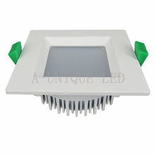 2014 New arrival Square LED Downlight 12W 1000lm output,SAA Approved Dimmable LED Downlight with 90mm cutout