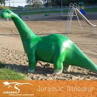 Resin Cartoon Dinosur Children Playground Equipment Dinosaur