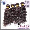 3 Pcs Lot Cheap Brazilian Virgin Processed Weaving Black Hair Bun Pieces