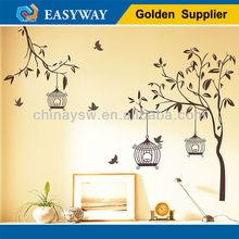 easy peel off wall sticker/vinyl wall sticker decor/wall art sticker
