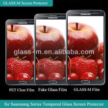 HD Display GLASS-M Diamond Tempered Glass Screen Skin For Samsung Galaxy S4