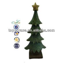 Popular resin christmas decoration 2013 christmas tree